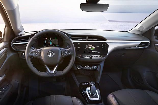 Interior do Opel Corsa-e 2020 (Foto: Divulgação)