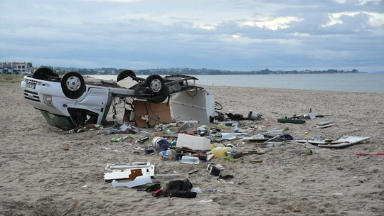 Seis turistas, incluindo duas crianças, morrem com chuva na Grécia
