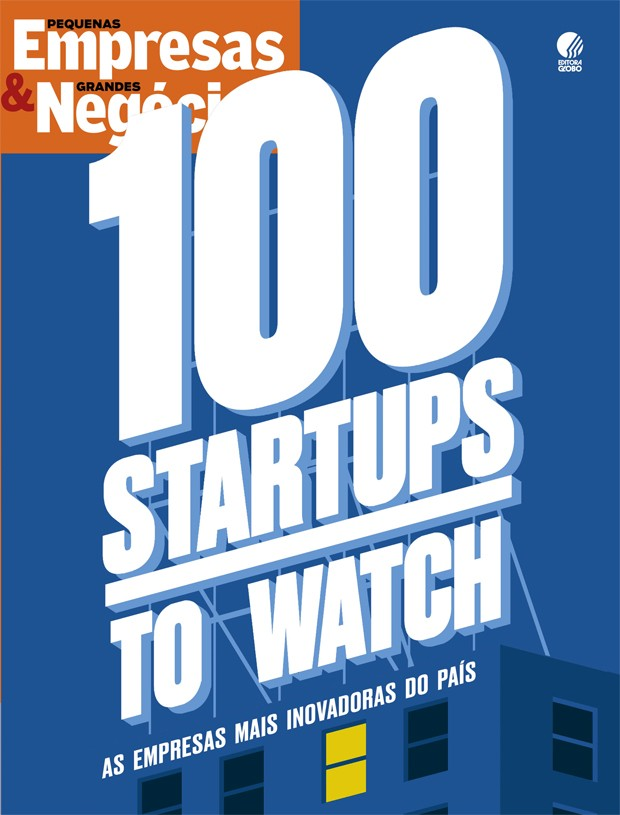 Capa 100 startups to watch (Foto: PEGN)