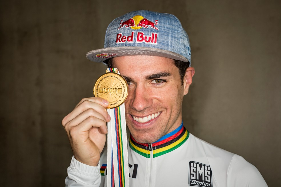 Avancini, do ciclismo — Foto: Fabio Piva/Red Bull Content Pool
