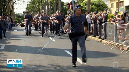 Desfile cívico comemora o aniversário de 102 anos de Presidente Prudente