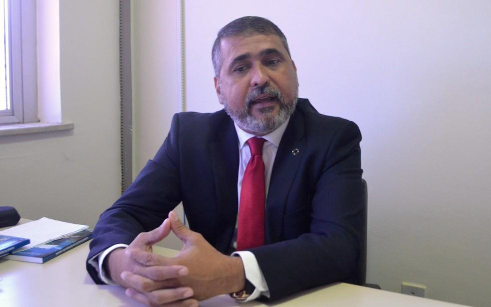 Deputado Moisés Souza está preso desde novembro de 2016  (Foto: Abinoan Santiago/G1)