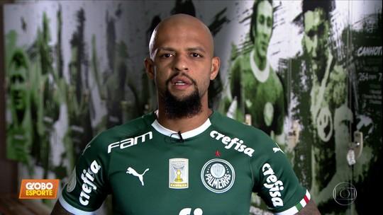 """""""Sabia, não?"""": em novo quadro do Globo Esporte, Felipe Melo revela três curiosidades de sua vida"""