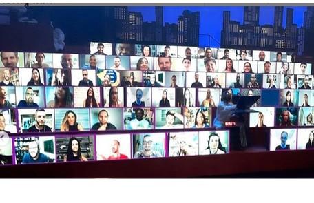 Uma plateia virtual substituirá o público na quinta temporada do programa do Multishow. A atração estreia dia 3 de novembro Reprodução/Instagram