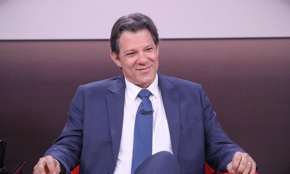 Fernando Haddad, candidato à Presidência da República pelo Partido dos Trabalhadores (PT) (Foto: Divulgação/ Ricardo Stuckert )