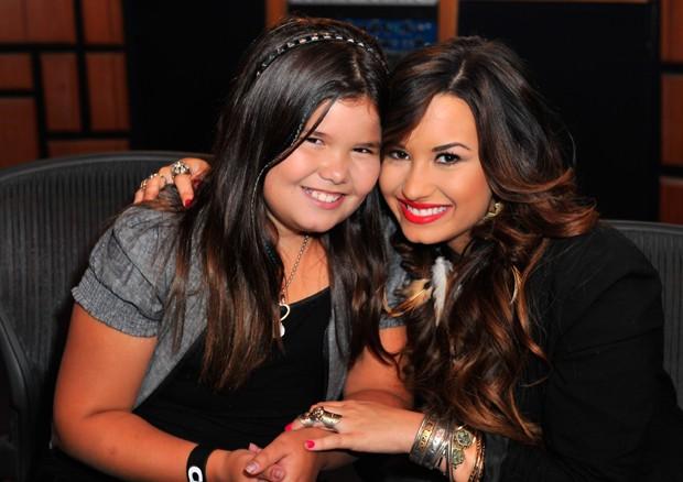 Madison De La Garza e Demi Lovato (Foto: Getty Images)