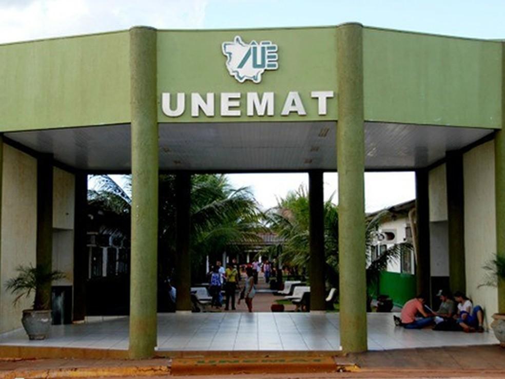 Universidade Estadual de Mato Grosso — Foto: Unemat