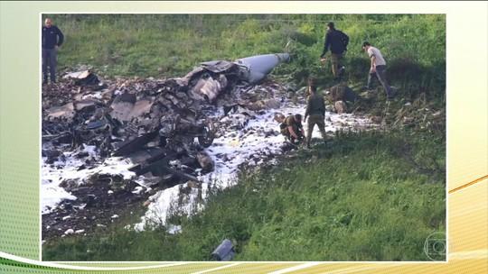Caça F-16 israelense é derrubado durante operação contra alvos iranianos na Síria