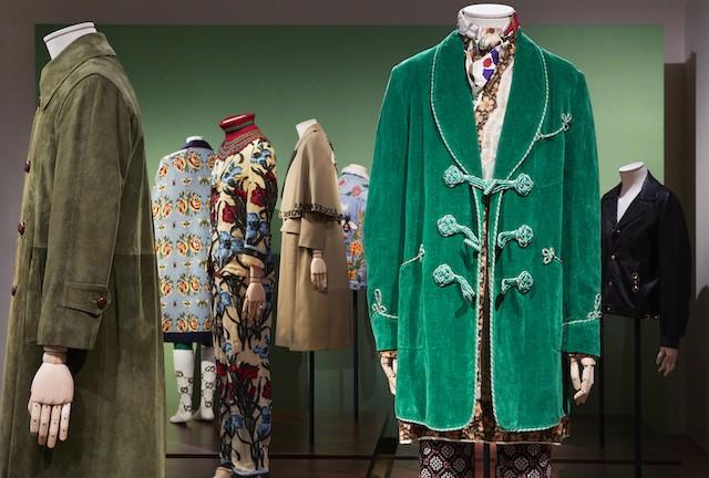 O Homem - Mente Andrógina, Corpo Eclético, nova exposição do Gucci Garden (Foto: Divulgação)