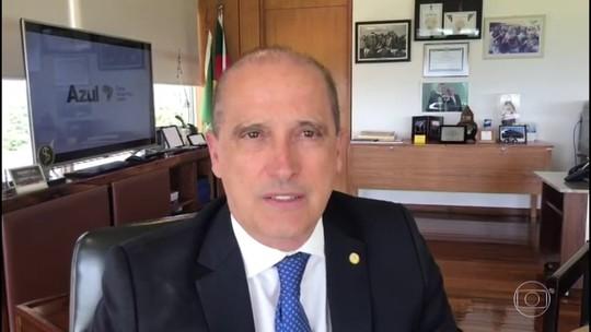 Bolsonaro é o goleador, não pode jogar amistoso, afirma Onyx
