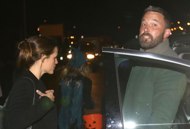 Jennifer Garner e Ben Affleck (Foto: Backgrid)