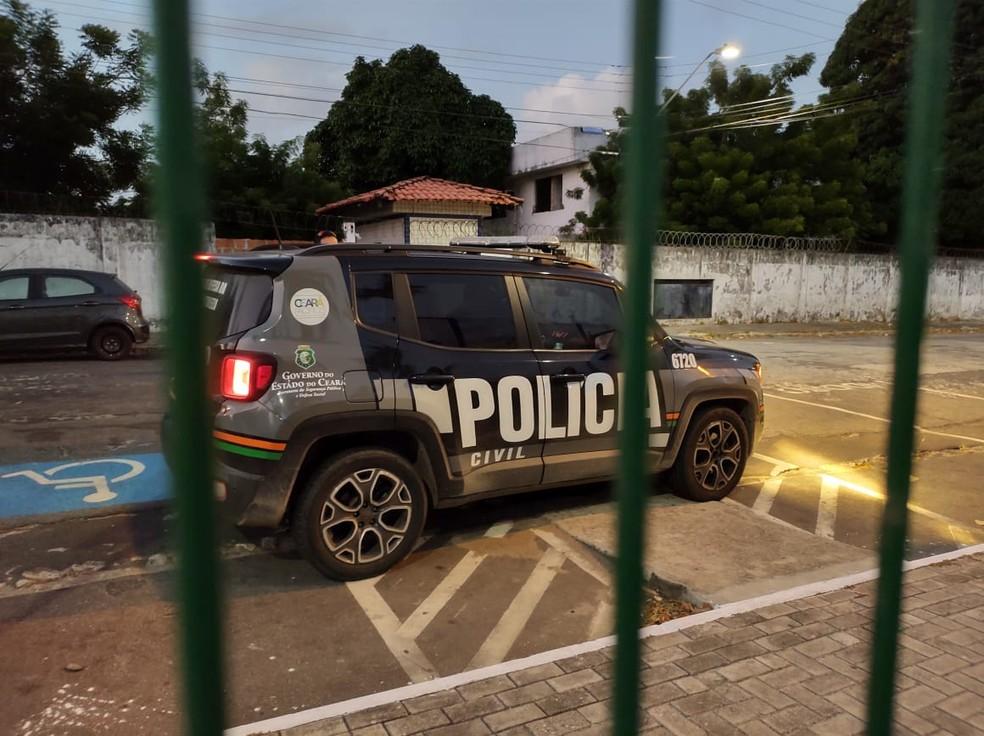 Operação do Ministério Público apura policiais que usavam sistema do estado para localizar 'alvos' dos crimes — Foto: MPCE/Divulgação