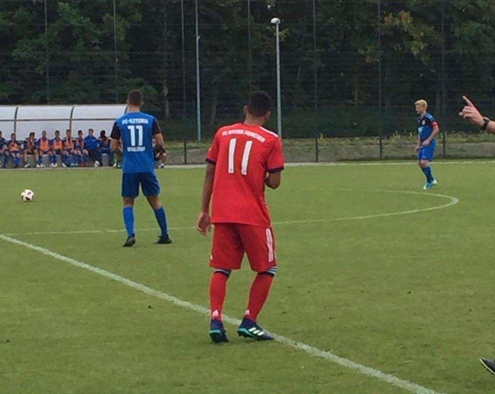 Paraibano participou de amistosos pelo Bayern de Munique na Alemanha — Foto: Arquivo Pessoal