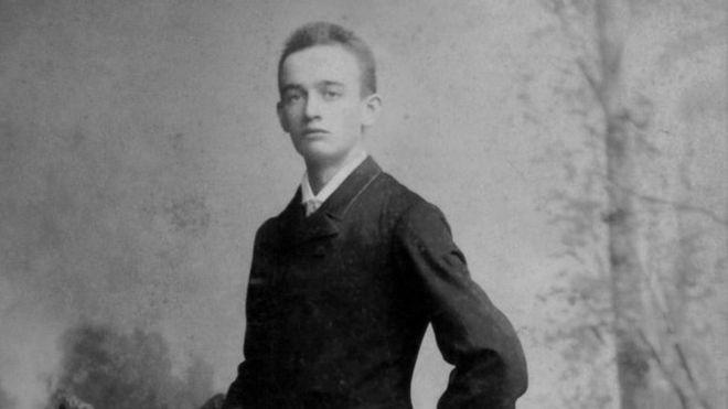 Friedrich Trump fotografado em Nova York em 1887 (Foto: GETTY IMAGES via BBC)