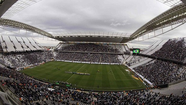 Arena Corinthians, mais conhecido como Itaquerão (Foto: Paulo Whitaker/Reuters)