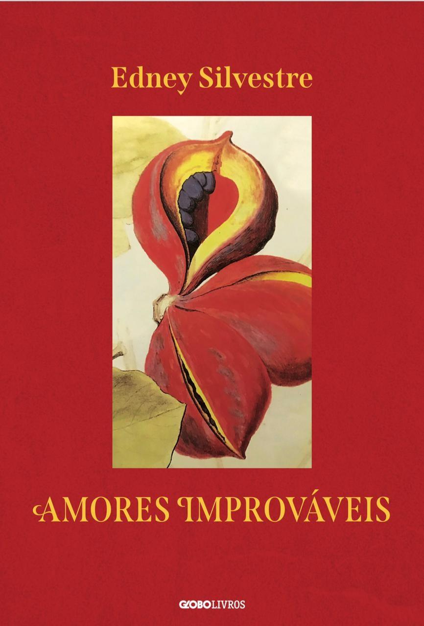 """Globo Livros: esta é a capa de """"Amores improváveis"""", o novo romance de Edney Silvestre, que  entra em pré-venda"""