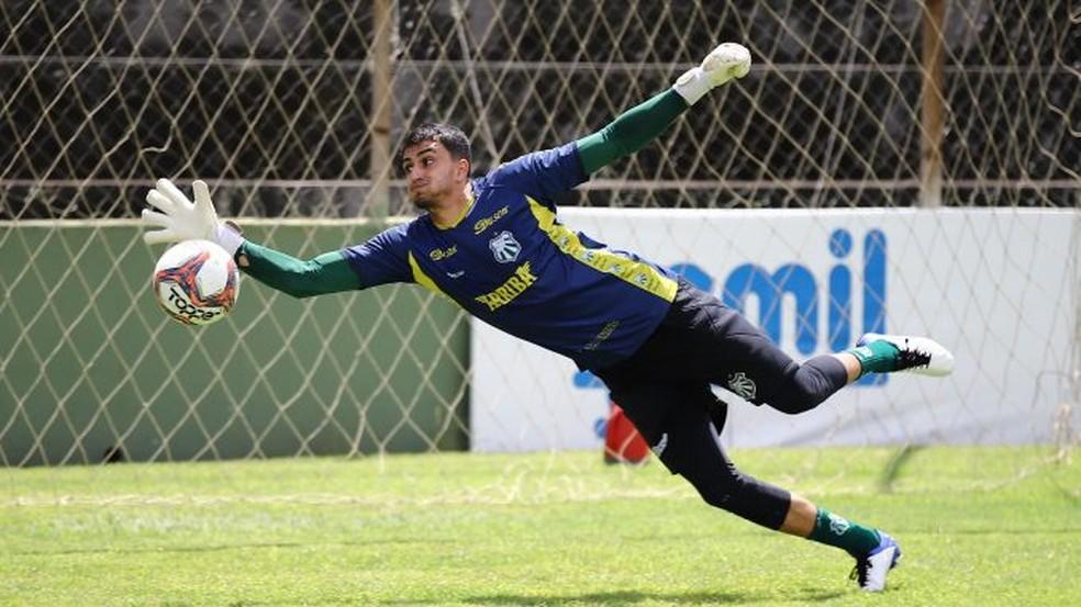 Passarelli lamenta invencibilidade perdida pela Caldense no Campeonato Mineiro — Foto: Renan Muniz/Caldense