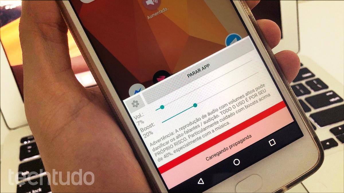 d3ba39a2c Aplicativo para aumentar o volume do celular  veja como usar o Goodev