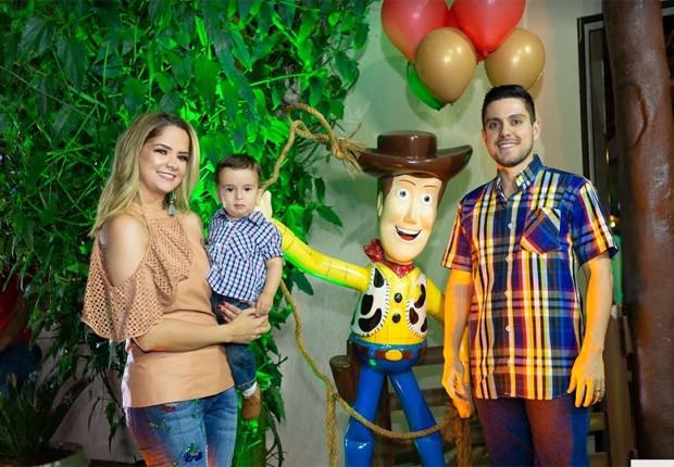 Maria Cecília e Rodolfo festejam aniversário do filho, Pedro (Foto: Leo Matsuda)