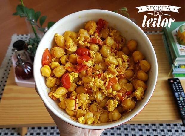 Salada de grão de bico (Foto: Divulgação)
