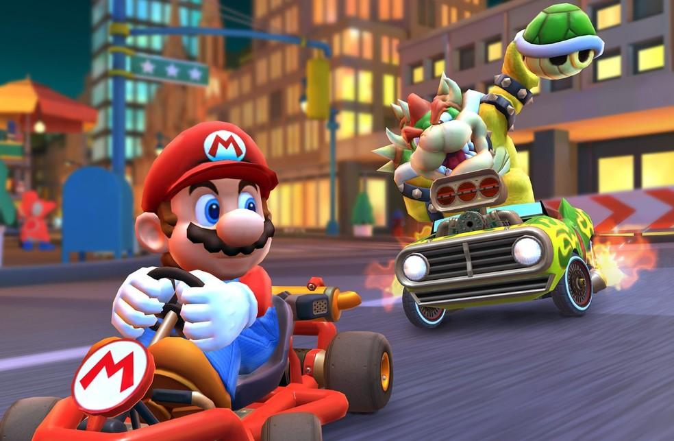 Mario Kart Tour é jogo mobile da famosa franquia de kart da Nintendo — Foto: Divulgação/Nintendo