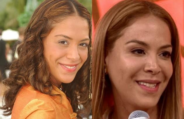 Filha do autor Manoel Carlos, Júlia Almeida foi Vidinha, jovem rica da Zona Sul do Rio. A última aparição da atriz na TV foi numa participação em 'Tempo de amar' (2018). Atualmente, ela se dedica a uma marca de roupas de banho (Foto: TV Globo)