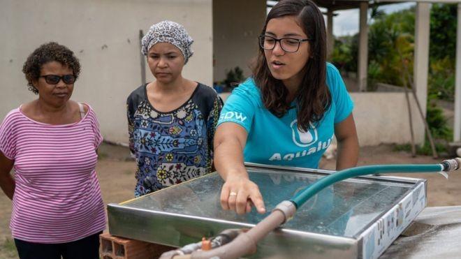 Jovem baiana é primeira brasileira a ganhar prêmio global da ONU sobre meio ambiente - Notícias - Plantão Diário