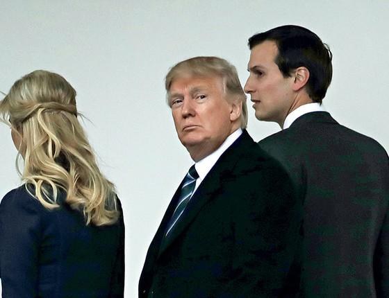 O genro, a filha e o pai: relações mais do que incestuosas (Foto: Katherine Frey /Getty Images)