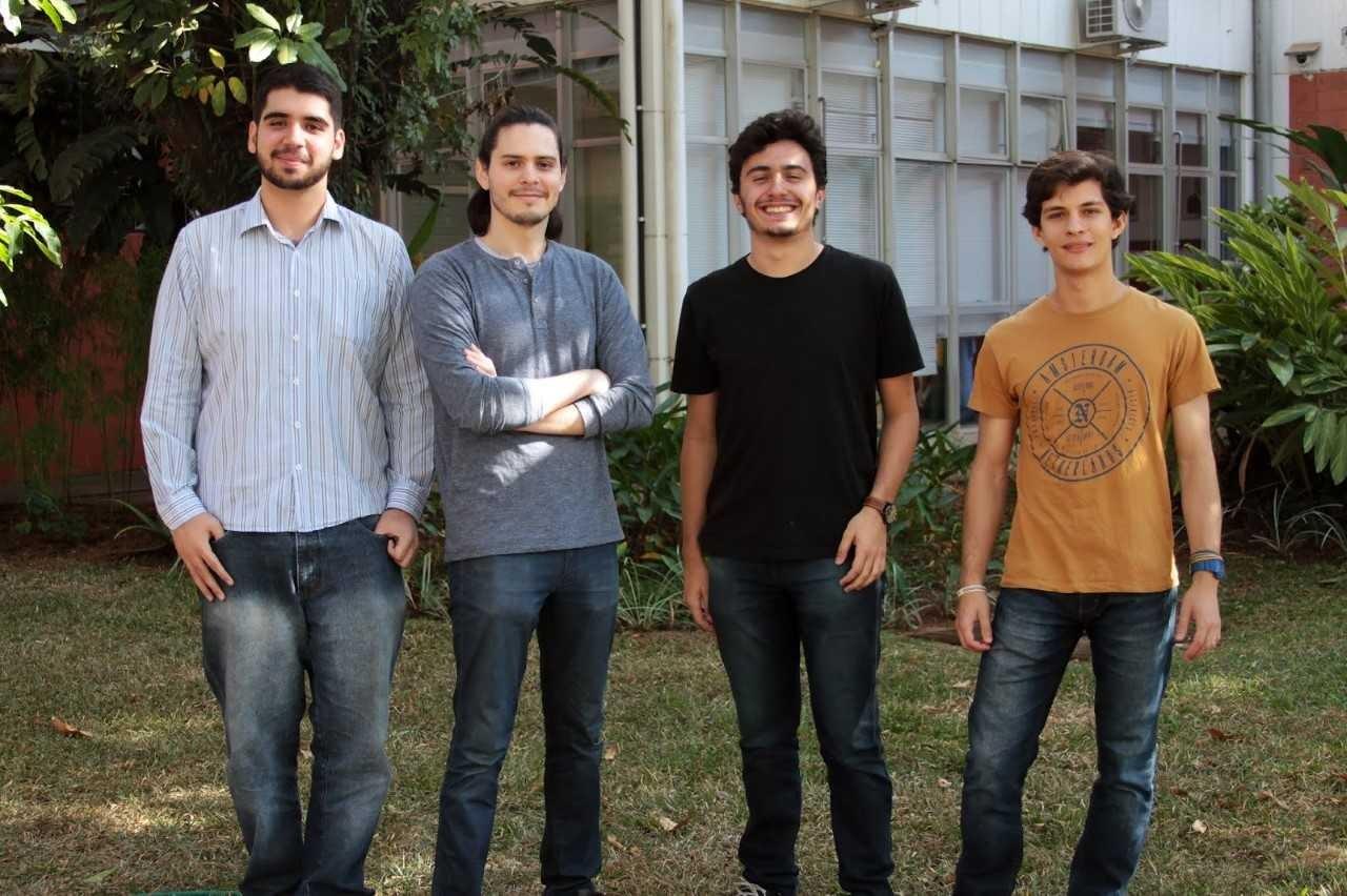 Bruno Coelho, Gustavo Sutter, Marcello Pagano e Tobias Veiga (Foto: Divulgação)