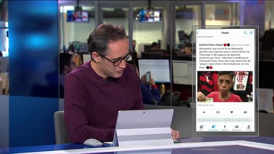 Comentaristas debatem elitização dos estádios e treinos abertos do Flamengo