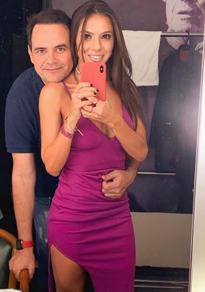 Márvio Lúcio e a mulher, Paola Machado (Foto: Reprodução/ Instagram)