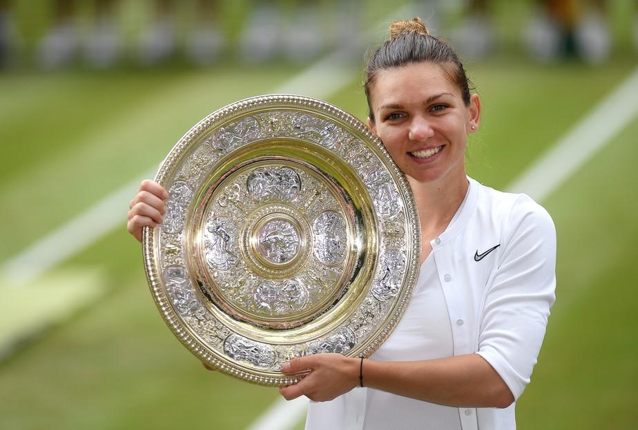 A construção de uma campeã: Simona Halep mostra sua nova faceta com título em Wimbledon