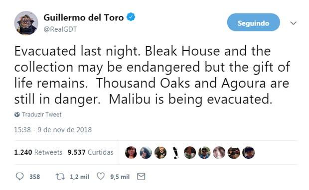 Guillermo del Toro (Foto: Reprodução/Twitter)