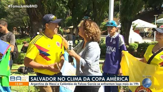 Copa América 2019: Salvador já esta pronta para o jogo entre Argentina e Colômbia
