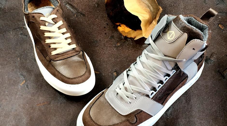 Sapatos da nat-2 usam restos de café em produto 100% vegano e sustentável (Foto: Divulgação)