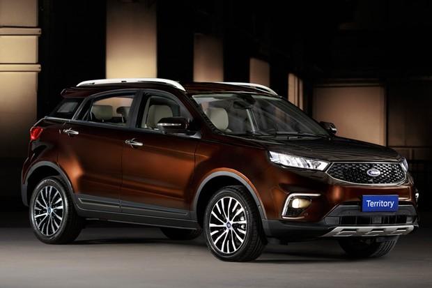 Ford Territory é derivado de projeto do fabricante chinês JMC (Foto: Divulgação)