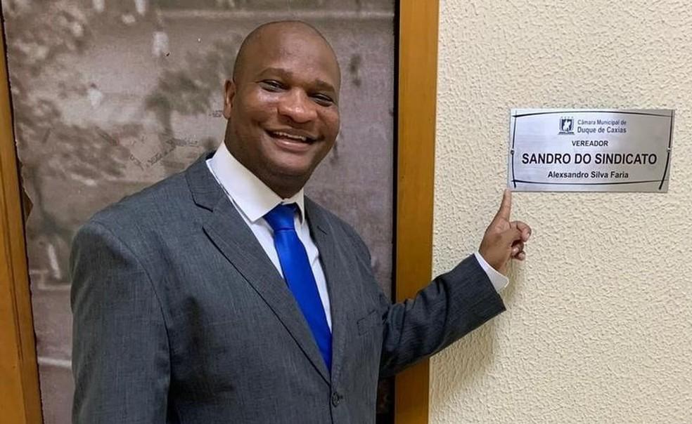 Alexsandro Silva Faria, o Sandro do Sindicato — Foto: Reprodução