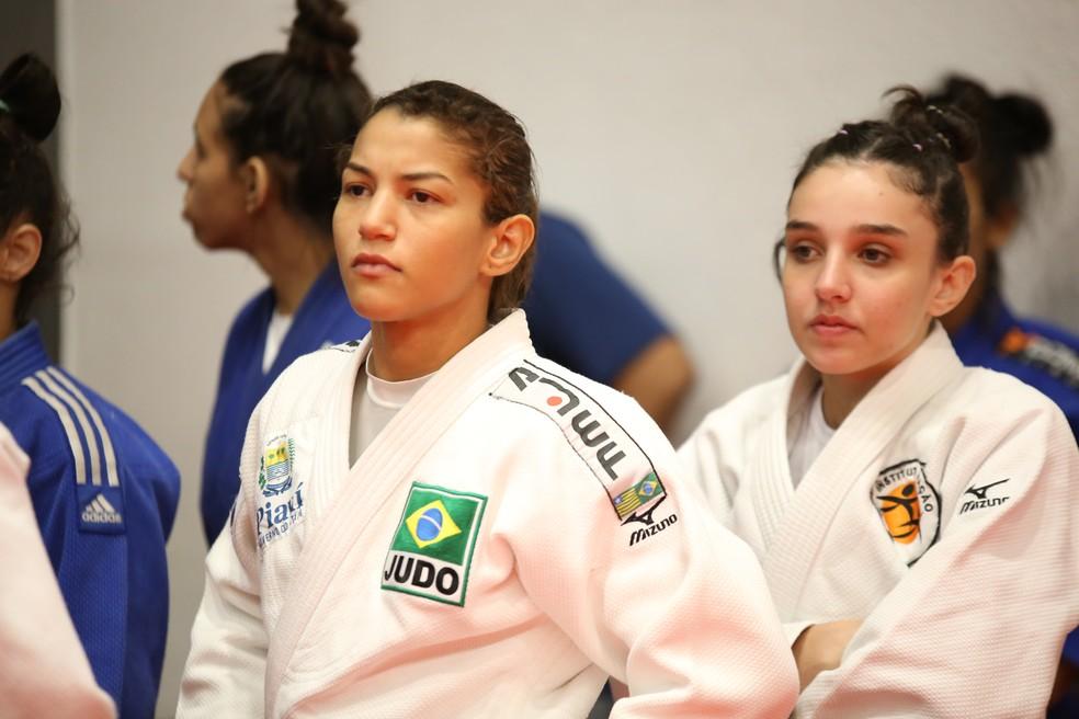 Após conquista do Troféu Brasil, Sarah aguarda sinal verde da CBJ para lutar mais um ciclo olímpico na 48kg (Foto: Mayara Ananias/CBJ)