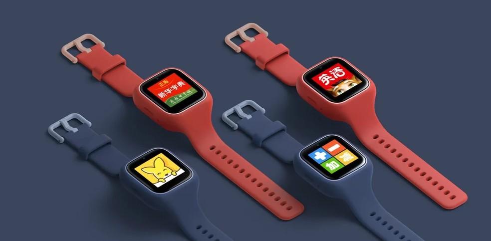 Mi Bunny Watch 3C: smartwatch da Xiaomi para crianças não tem previsão de lançamento no Brasil — Foto: Divulgação/Xiaomi