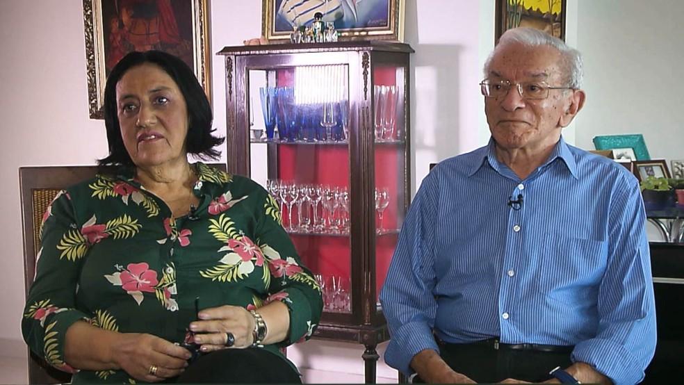 Antônio Barros e Cecéu se conheceram em 1971, em Campina Grande — Foto: Reprodução/TV Cabo Branco