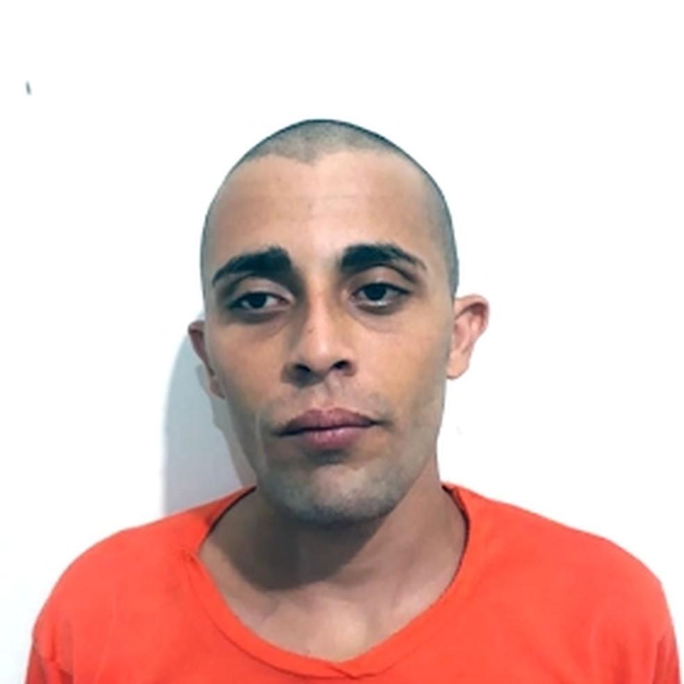 Erismar Edimar Dias foi encaminhado a Unidade Prisional de Barra do Corda, onde vai ficar à disposição da Justiça — Foto: Divulgação/Polícia