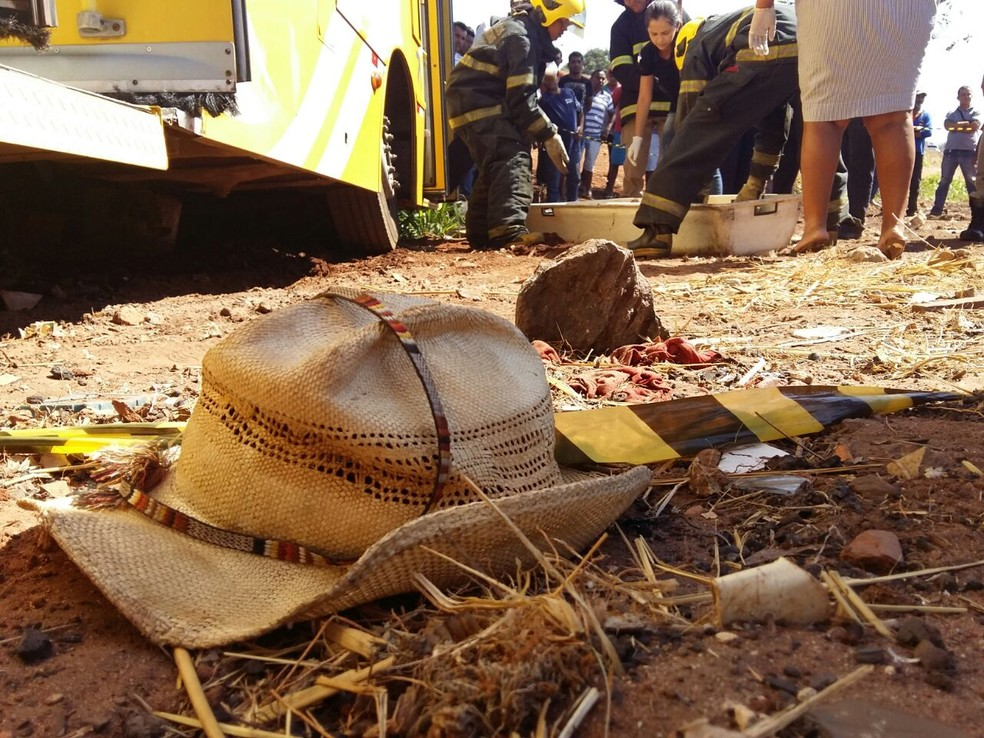 Homem trabalhava com limpeza de ruas e lotes em Araguaína (Foto: Lucas Ferreira/TV Anhanguera)