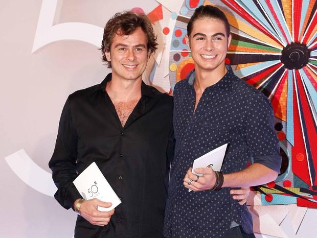 João Vitti e Rafael Vitti (Foto: Fabrizia Granatieri/Ed.Globo)