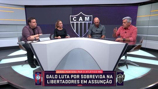 Mesa comenta luta do Atlético-MG por sobrevida na Libertadores