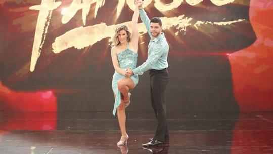 Mariana Ferrão escolhe look favorito do 'Dança' e encerra 'mistério' do zouk