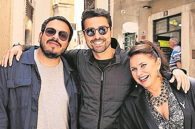 Luis Lobianco, Ricardo Pereira e Fafá de Belém (Foto: Gustavo Nasr)