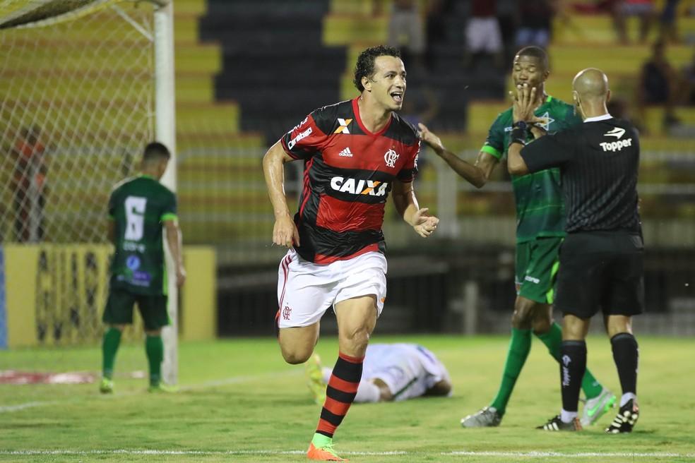 Damião defenderá o Inter na Série B (Foto: Gilvan de Souza / Flamengo)
