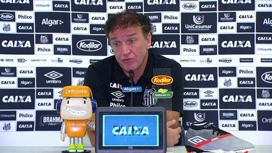 Cuca diz que má atuação do Santos reflete treinos ruins às vésperas de jogo contra a Chape