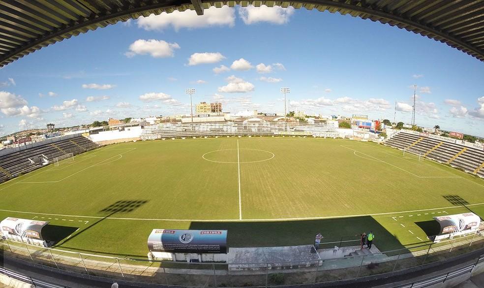 Estádio Coaracy da Mata Fonseca, em Arapiraca — Foto: Ailton Cruz/ Gazeta de Alagoas