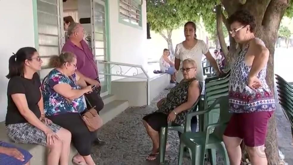 Corpo de romeira está sendo velado em Bilac, cidade natal dela (Foto: Reprodução/TV TEM)